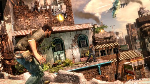 Uncharted 2 - Screen