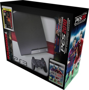 PS3slim-PackSpain120-PES-MGS